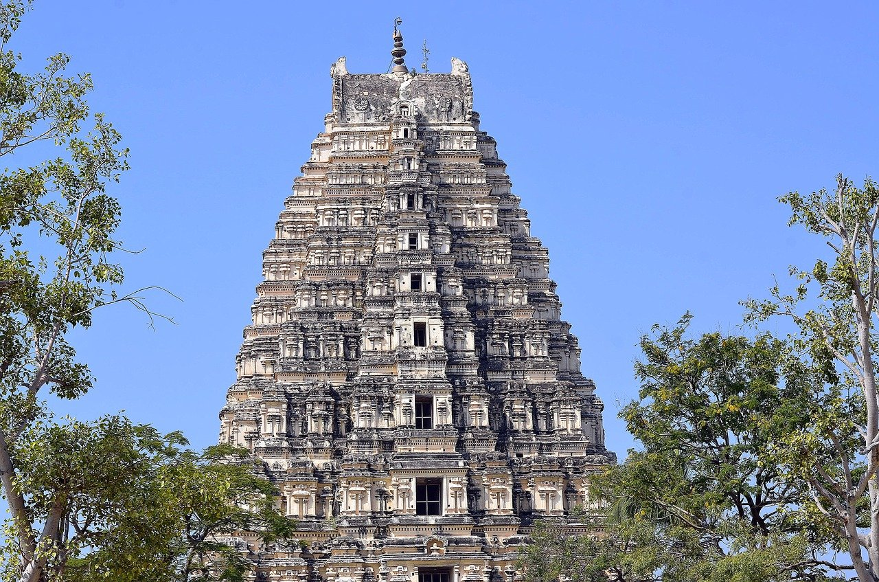 מקדשים בהאמפי הודו