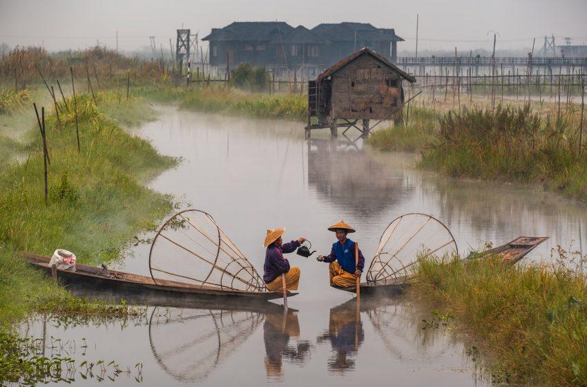 העיר סטווי ראכין בורמה