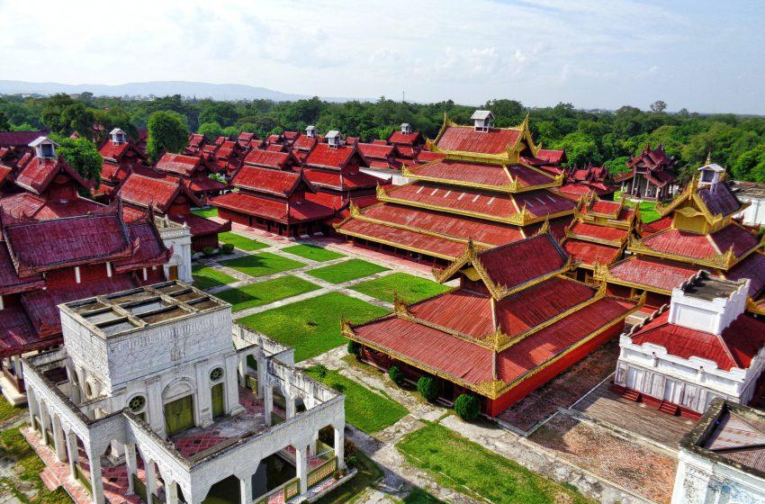 העיר ינגון דרום בורמה