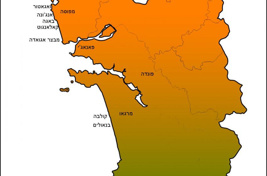 מפת גואה